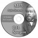 C H Spurgeon-123 Bible Sermons-MP3 Audio CD-Over 93 Hrs-iPhone-iPod-Compatible