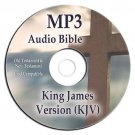 Authorized King James Version KJV MP3 Audio Bible CD-iPod iPhone Compatible