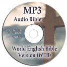 World English Version MP3 Audio Bible on CD-Kindle-iPhone-iPod-Droid Compatible