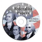 The Federalist Papers by Hamilton, Madison & Jay MP3 CD-iPhone-iPod Compatible