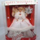 1989 HAPPY HOLIDAYS BARBIE DOLL SPECIAL EDITION MATTEL