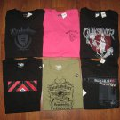 NWT Mens Sz M L XL XXL QUIKSILVER Short Sleeve T-SHIRT *Choose Black Pink Green