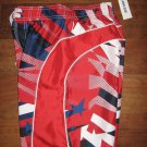 NWT Boys Sz S 6-7 OLD NAVY Swim SHORTS TRUNKS BOARDSHORTS USA PATRIOTIC Red Blue