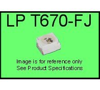LS T670-FJ TOPLED®, SMD Pure Green, 10pcs (In Stock)