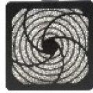 Qualtek Plastic Fan Filter Assemby, 45 PPI FLTR, (ea) [B] (2 Available)
