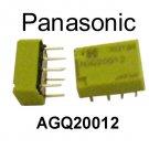 AGQ20012, Panasonic, Low Signal Relay, PCB, 1A, 12VDC, DPDT, [EA] [O]