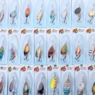 30x Metal Fishing Lures Spinners Baits
