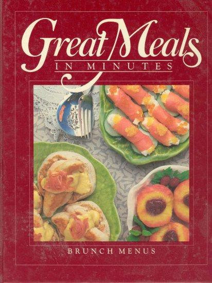 Time Life Cookbook Brunch Menus