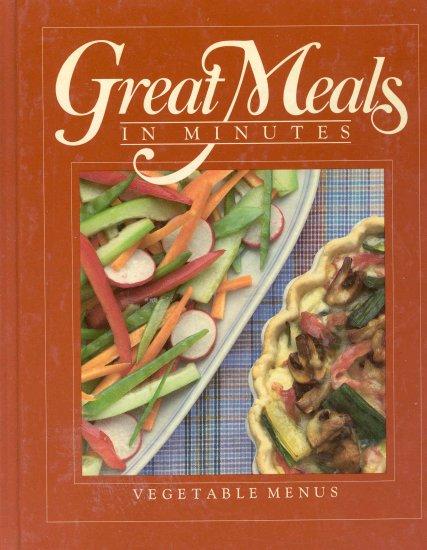 Time Life Cookbook Vegetable Menus