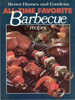 Better Homes and Gardens Cookbook Barbecue