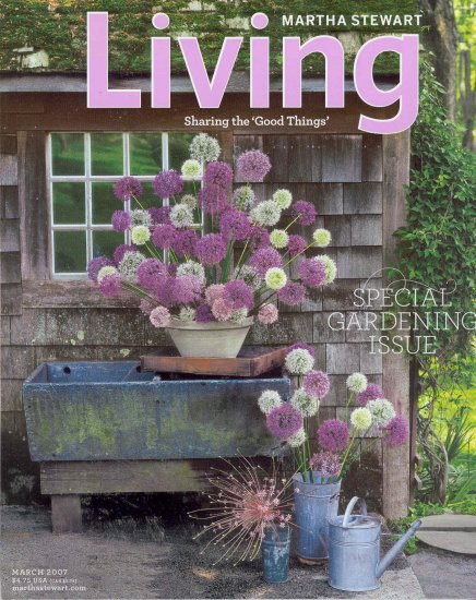 Martha Stewart Living Magazine Back Issue March 2007