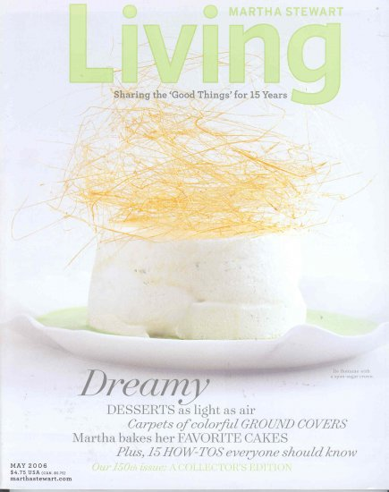 Martha Stewart Living Magazine Back Issue May 2006