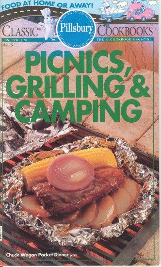 Pillsbury Picnics Grilling Camping Cookbook Buy 3 Get 1 Free