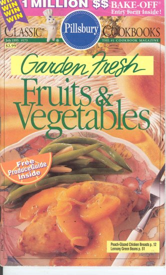 Pillsbury Garden Fresh Fruits & Vegetables Cookbook Buy 3 Get 1 Free