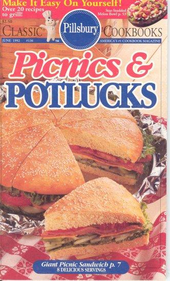 Pillsbury Picnics and Potlucks Cookbook Buy 3 Get 1 Free