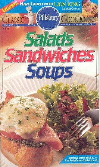 Pillsbury Salads Sandwiches Soups Cookbook #170 Buy 3 Get 1 Free
