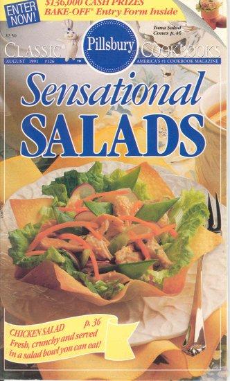 Pillsbury Sensational Salads #126 Cookbook Buy 3 Get 1 Free