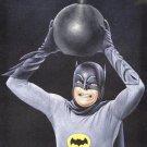 Batman 1960's Adam west world greatest detective black velvet oil painting