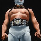 El santo wrestling black velvet oil painting, is 100% handpainted