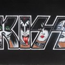 Kiss Band Logo,Gene Simmons,Paul Stanley,Eric & Tommy black velvet oil painting