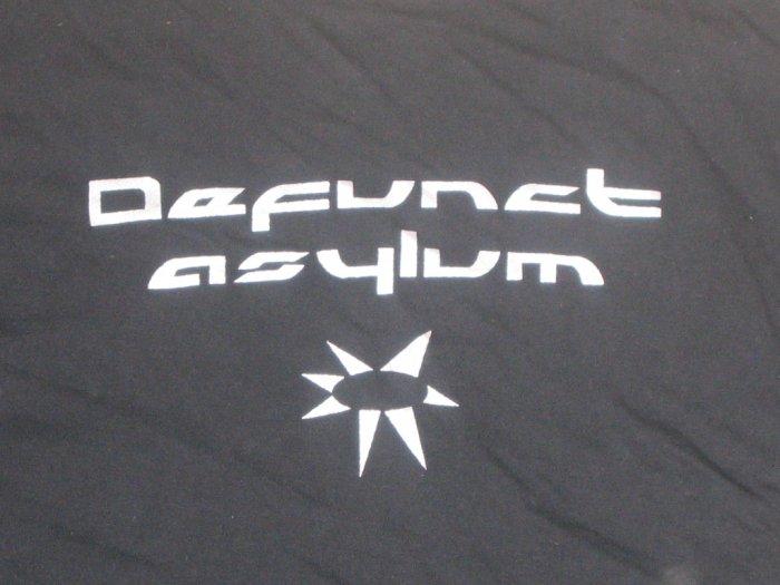 "Defunct Asylum T-shirt ""Black-Silver"""
