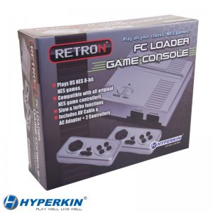 Hyperkin Retron 1 Silver Console for NES Games New In The Box!