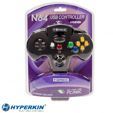 Tomee Nintendo 64 PC & MAC USB GamePad Controller NEW