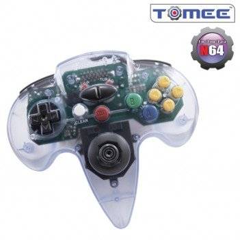 N64 Controller (Clear) For Nintendo 64
