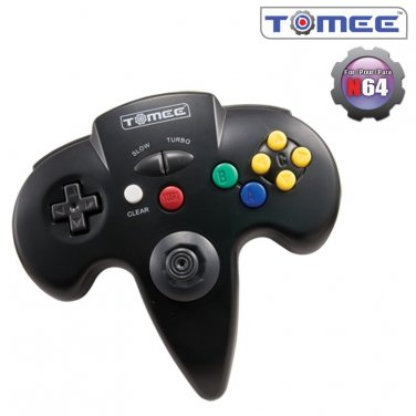 N64 Controller (Black) For Nintendo 64