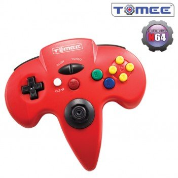 N64 Controller (Red) For Nintendo 64