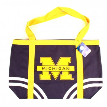 Michigan Wolverines NCAA Canvas Tote Bag New With Tags