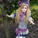 Breathtaking Old Antique German Bisque Head Large Kestner Closed Mouth Bebe Doll