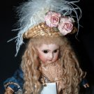 Antique Victorian Style Hat 4 French Fashion,Jumeau or German Bisque Head Dolls