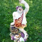 Guido Cacciapuoti Silvio Righetto Italian Ceramic Porcelain Bacchus God Figure