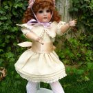 "Gorgeous Old 16"" Antique German Bisque Head Seyfarth & Reinhardt German Doll"
