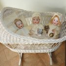 Precious Old Antique Life Sized German Bisque Kley & Hahn Character Baby Doll