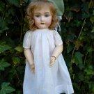 Precious Old Antique German Simon & Halbig Adolf Wislizenus Bisque Head Doll