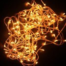 NEW CHRISTMAS TREE WEDDING PARTY YELLOW LED LIGHT 10M