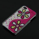 Rhinestone Bling HARD BACK CASE Cover for Apple iPhone 4G 4S New