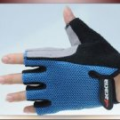 Cool Half Finger Gloves for Cycling--Blue