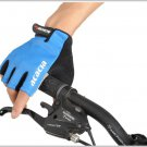 Bike Riding gloves Mountain bike half finger gloves--Blue