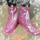 Pink mood rain with shoe covers (L codes)