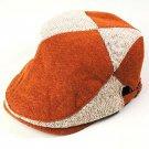 Vintage Color Block Camouflage Military Patrol Fatigue Fashion Beret Cap Hat