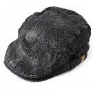 Trendy Vintage Denim Camouflage Military Patrol Fatigue Fashion Beret Cap Hat
