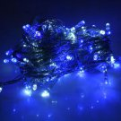 New Christmas Tree Wedding Party White+Blue LED Light 10m w/ End Plug 110V