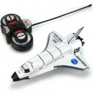 remote control aircraft land on the space shuttle model