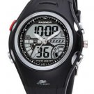HighQuality PASNEW Water-proof Dual Time Boys Girls Sport Watch--Random Color
