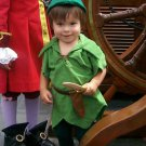 Custom Made Peter Pan Green child costume sizes available 1,2,3,4,5,6,7
