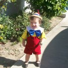 CustomTyrolean Hat Lederhosen Red Pinocchio Boys child  Costume