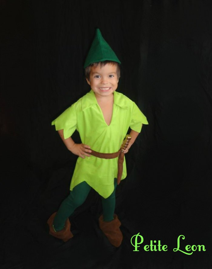 how to make peter pan shoes out of felt